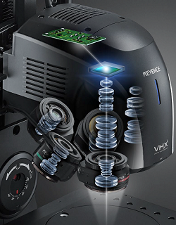 Keyence VHX 7000 digital microscope features expanded memory